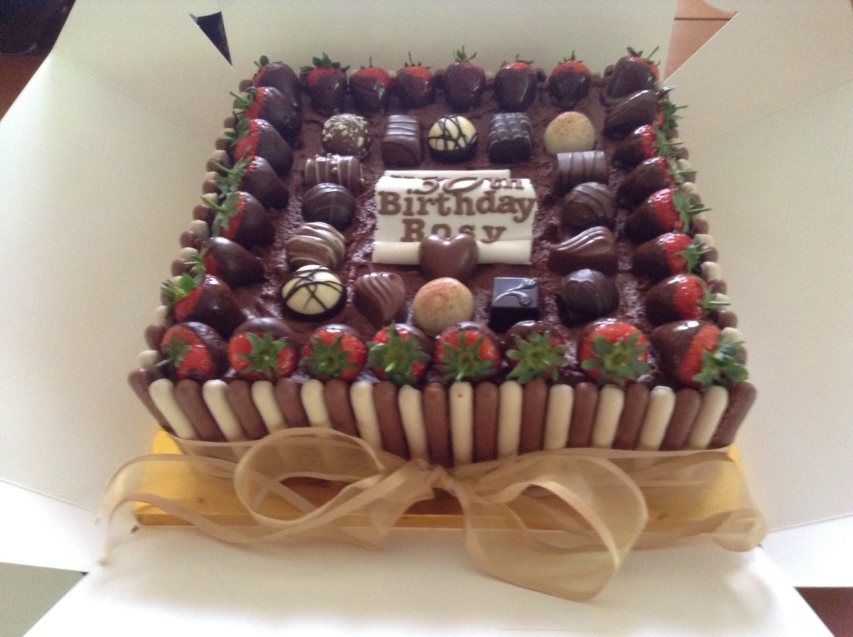 Chocolate Box Cake  Cakes by Sheila