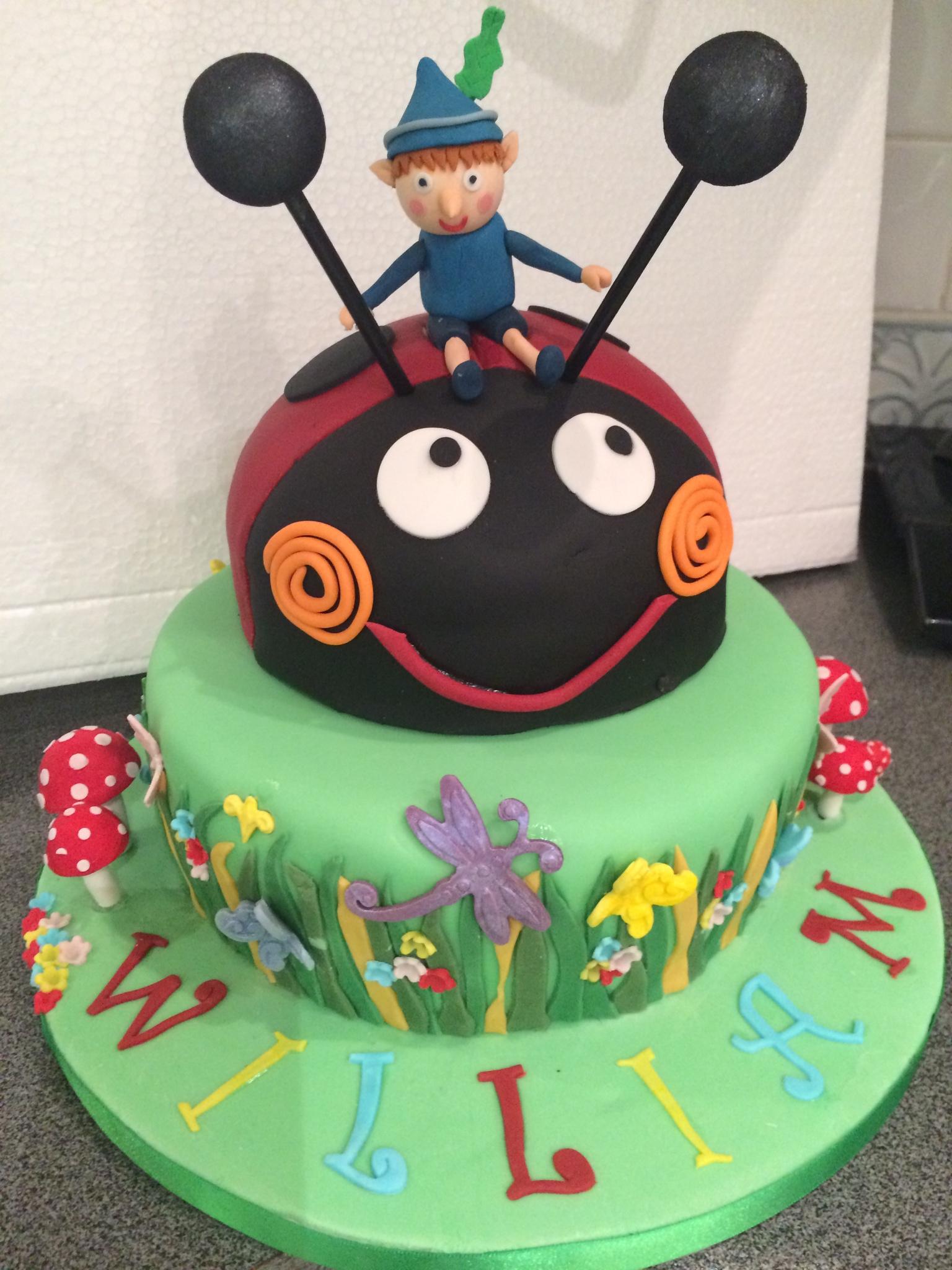 Ben & Holly – Cakes by Sheila  Ben & Holly –...